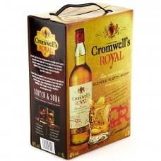 Виски Кромвелс 3 литра (Cromwells 3л) тетрапак