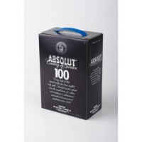 Водка Абсолют Чёрный 3 литра(absolut black 3l) тетрапак